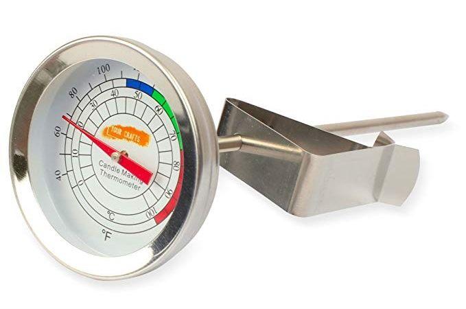 termómetro velas
